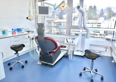 Zahnarztpraxis St.Gallen Behandlungsraum